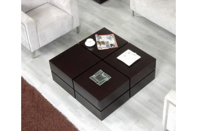 Terra Modern Coffee Table With Drawers