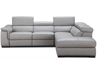 James Premium Leather Sectional - MI