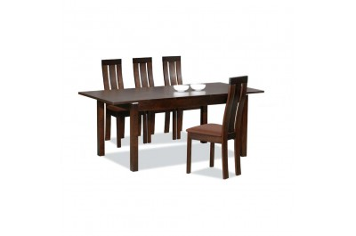 5 piece Wenge Dining Table