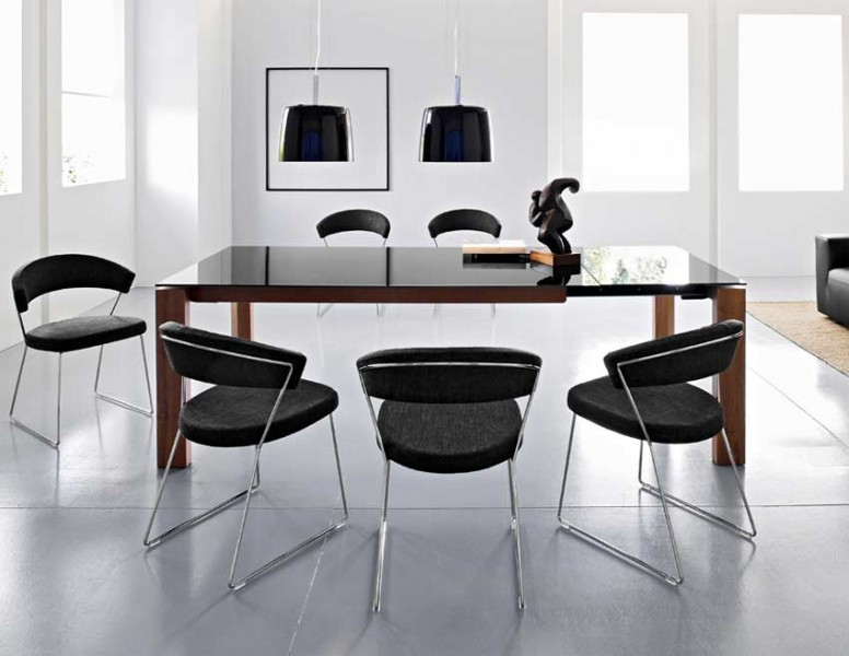 Calligaris Omnia Glass Dining Table