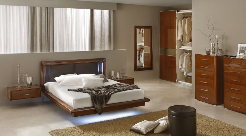Sky Modern Italian Bedroom Set   N