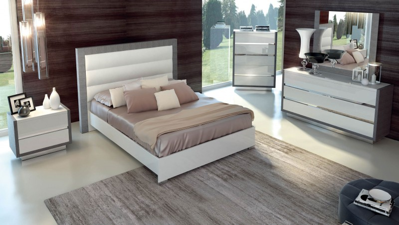 Contemporary Italian Bedroom Set Set