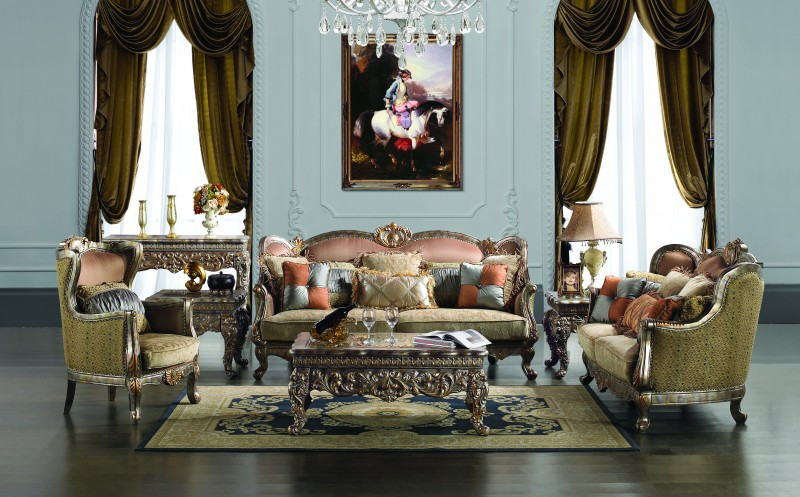 French Design Fabric Sofa Set HD   1628