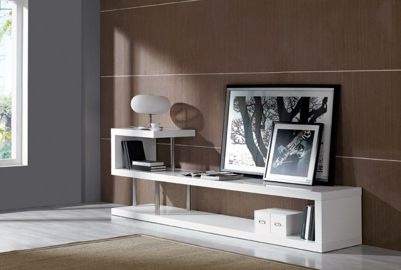 Modern Furniture Entertainment Center win 5 modern white lacquer tv stand entertainment center room