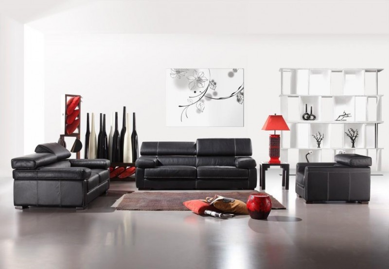 calia italia 381 sofa star modern furniture. Black Bedroom Furniture Sets. Home Design Ideas