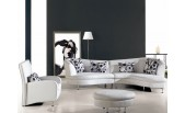 306 Leather Sectional sofa, Chair and Ottoman