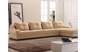 540 Leather Sectional and Chair