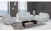 9122 Leather Sofa Set