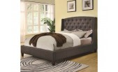 Button Tufted Bed - CO 300247