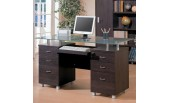Computer  Desk with Glass K-132008