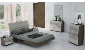 Bedroom Lacquered Gray Bedroom Set 02