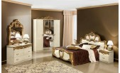 Barocco Ivory w/Gold Bedroom -N