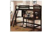 MS- CO-460063 Twin Workstation Loft Bunk Bed