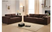 Slate Brown Corduroy Sofa Bed