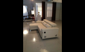 Modern Leather Sectional C381-M