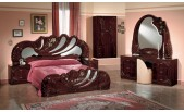 Vanity Mahogony - Italian Classic 3PC Bedroom Set