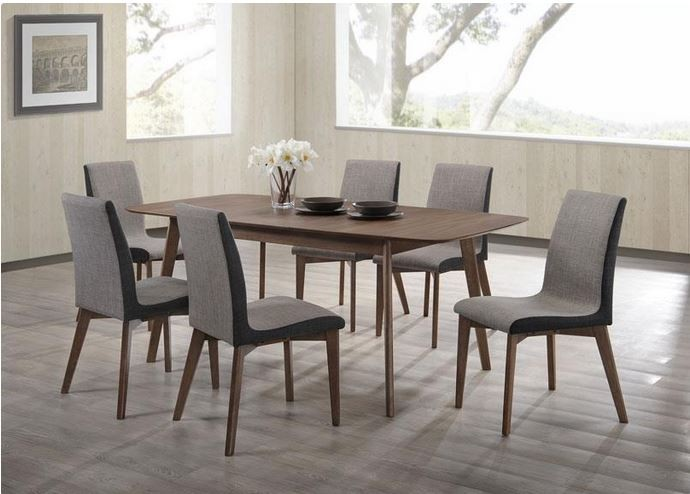 Las Vegas Mid Century Modern Design Dining Table Set C