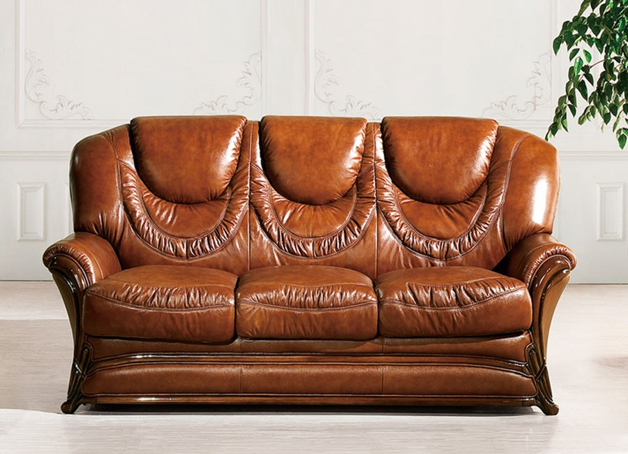 Dallas made in italy classic traditional sofa bed