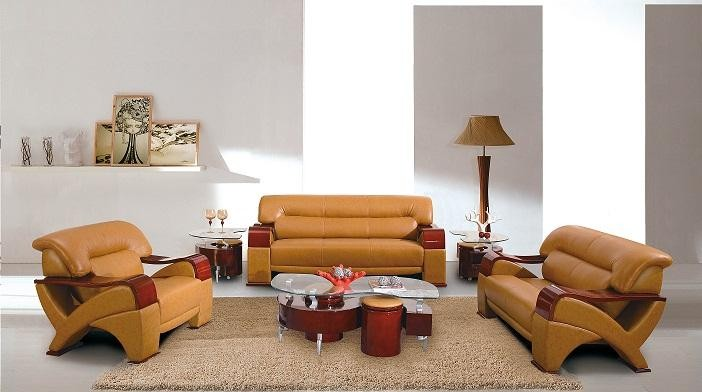 Matching Leather Sofas