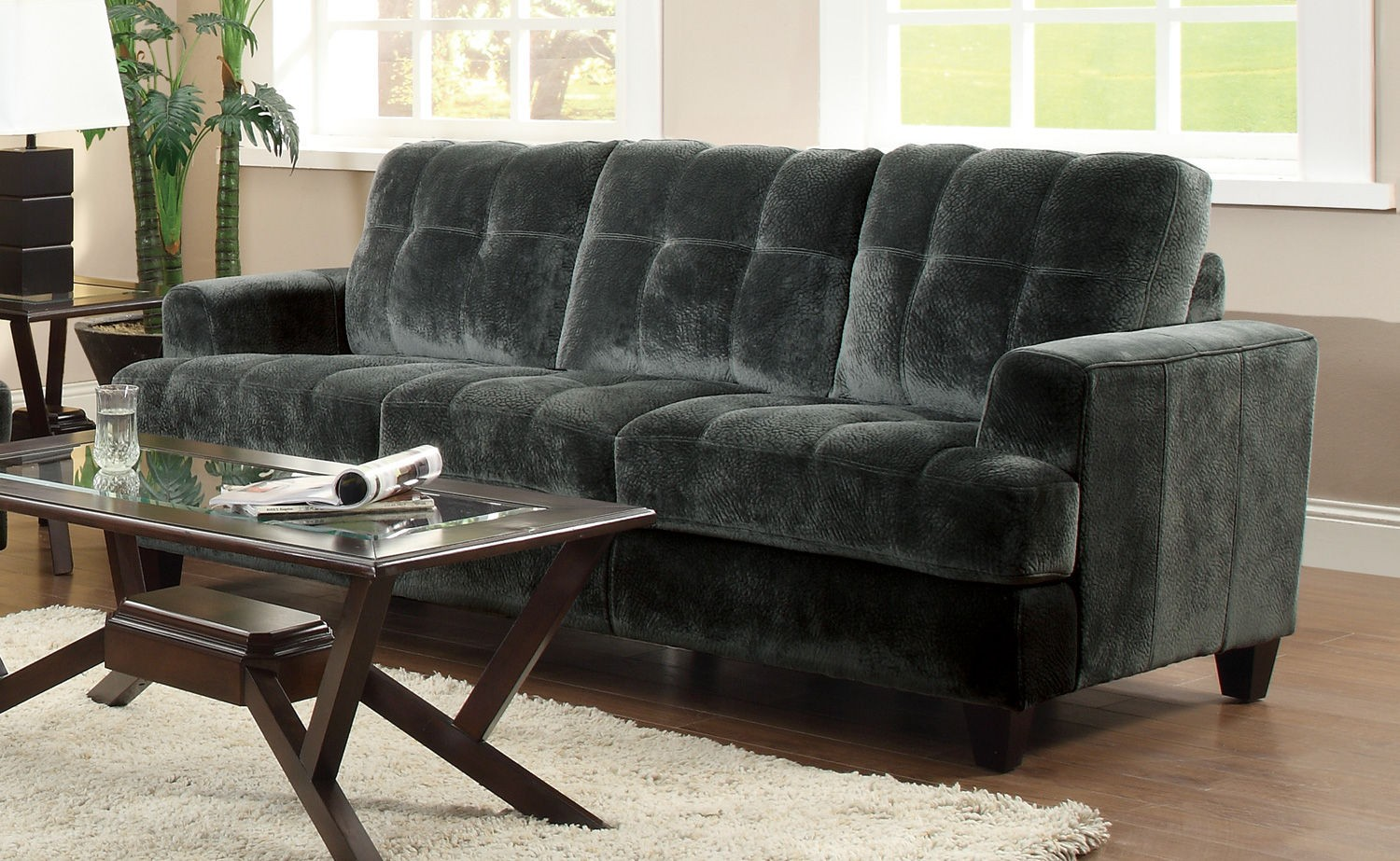 Hurley Sectional Co 500714 Fabric Sectionals Living