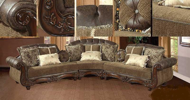 Camel Leather Couch Living Room