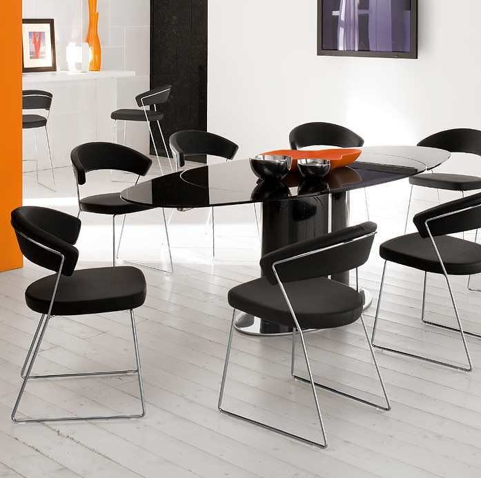 Modern Furniture Nyc calligaris new york italian chair - chairs - dining room star