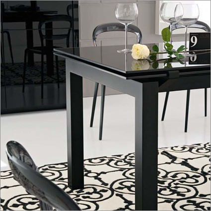 Calligaris cs 4011 airport extendable table star modern for Calligaris airport