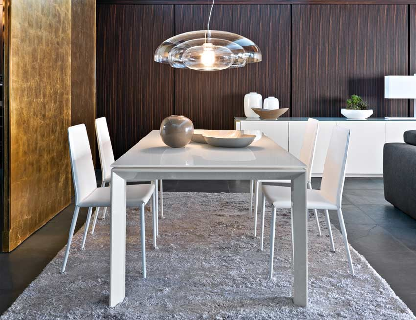 Calligaris Omnia Glass Dining Table - Calligaris Furniture - Brands Star Mode...