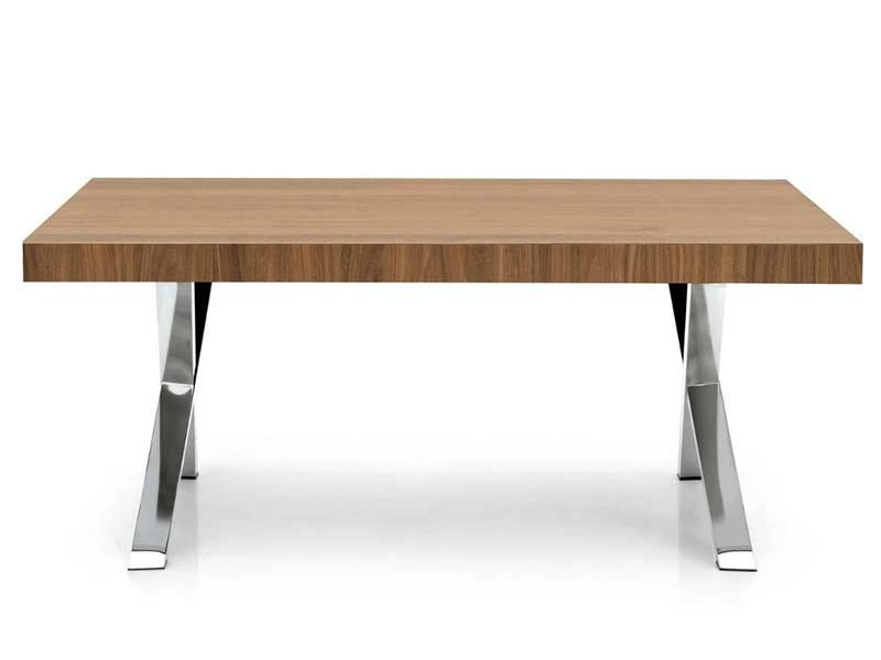 Calligaris axel fixed dining table cs 4060 frw modern for Table 6 fixed costs