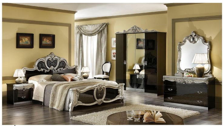 Barocco Black w Gold Bedroom  N. Barocco Black w Gold Bedroom  N   Featured Products Main Star
