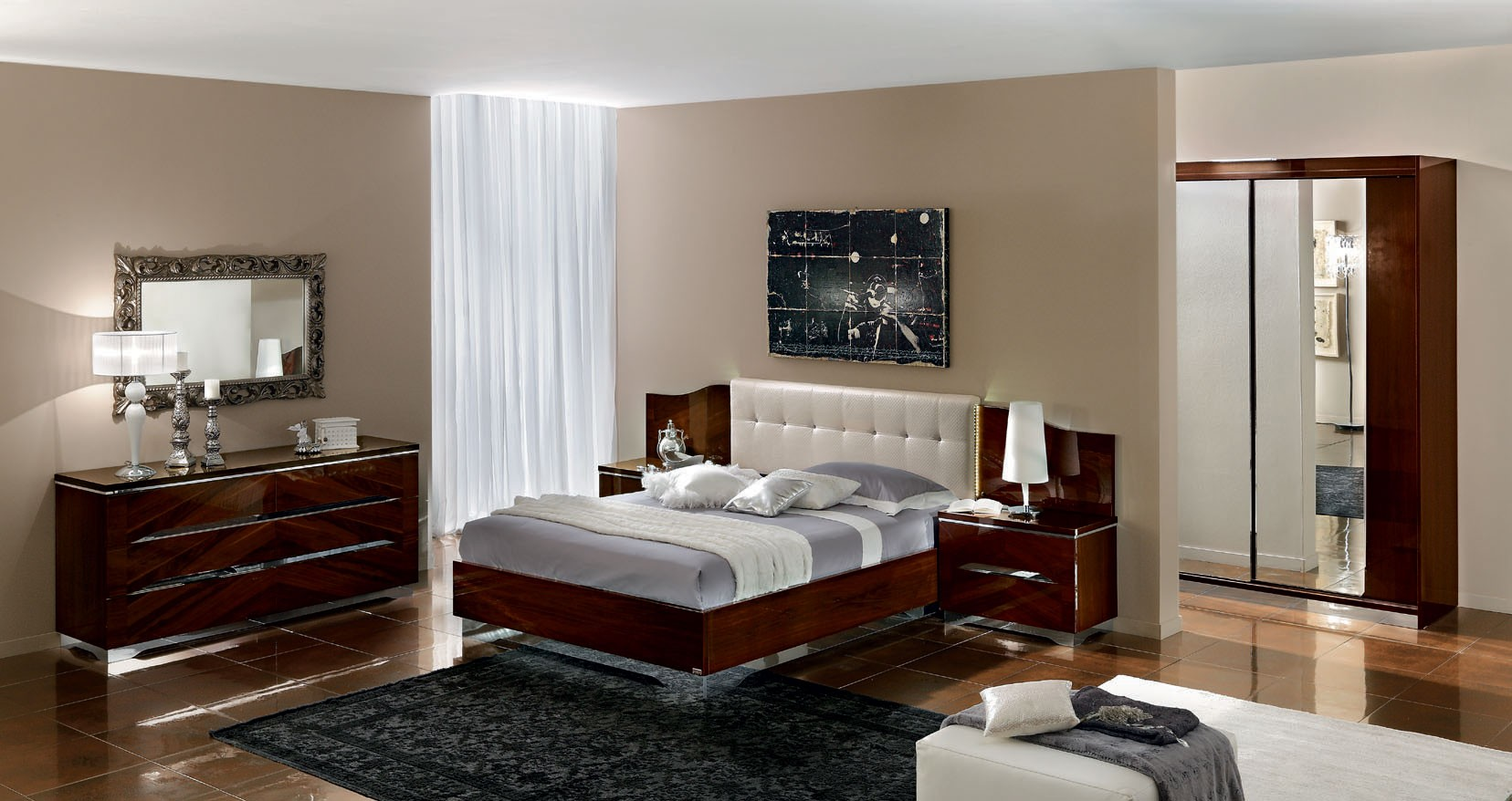 Matrix Modern Italian Bedroom set - N - Contemporary ...