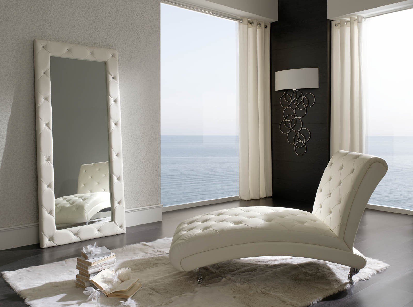 Peninsula White Modern Italian Bedroom Set N Star Modern