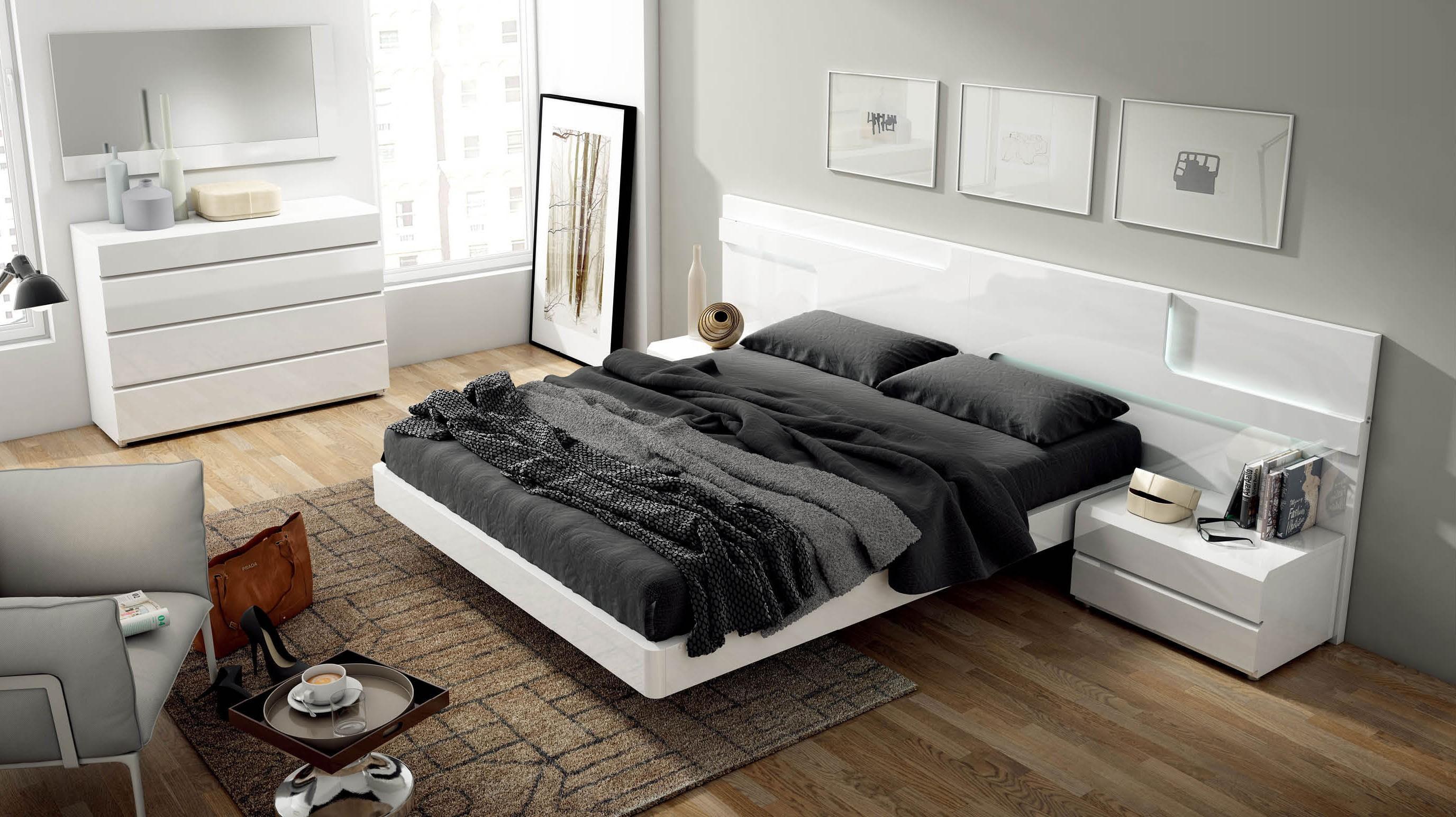 Modern Italian Bedroom Furniture Sets Sara Modern Italian Bedroom Set N Star Modern Furniture