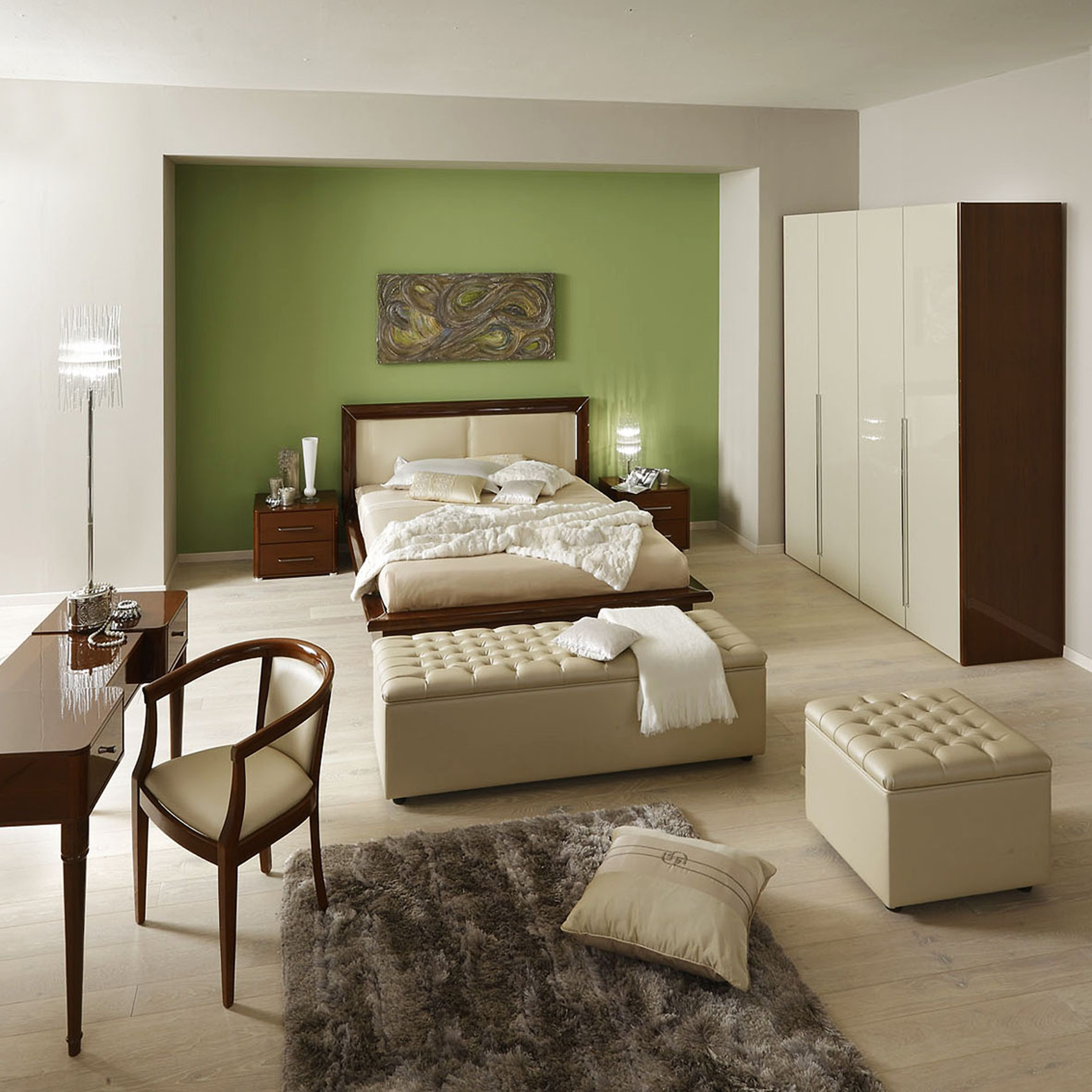 Contemporary Furniture Bedroom: Sky Modern Italian Bedroom Set