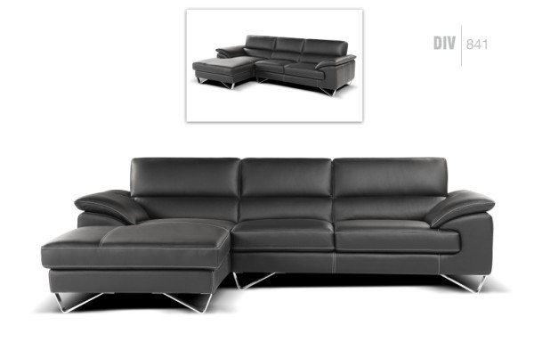 Nicoletti Div 841 Sectional Leather Sectionals Living