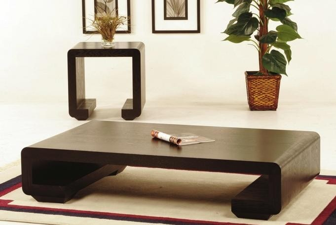 Dct 621 contemporary low profile table coffee end for Modern low profile coffee tables