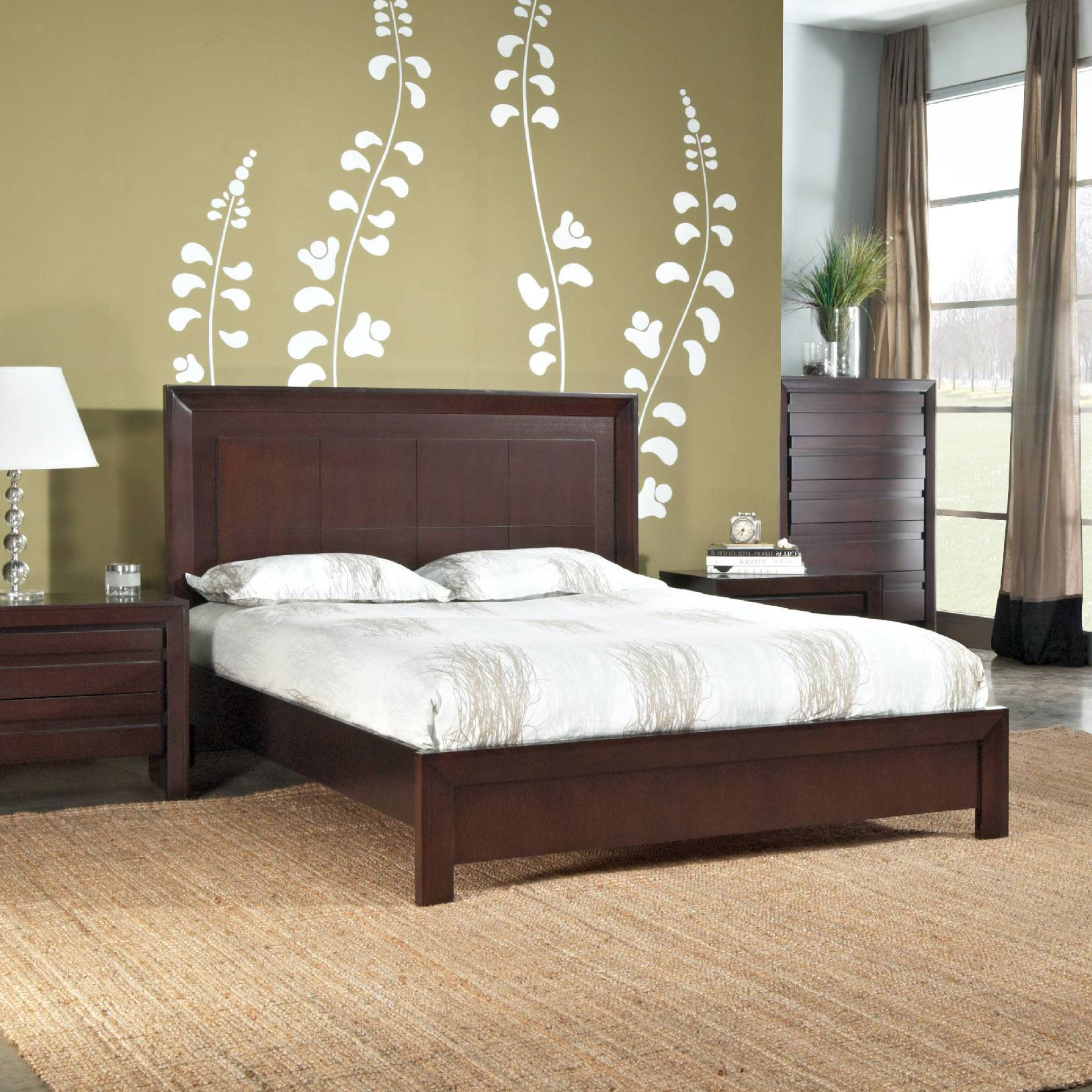 Element platform bed mfi modus furniture international for International decor bed