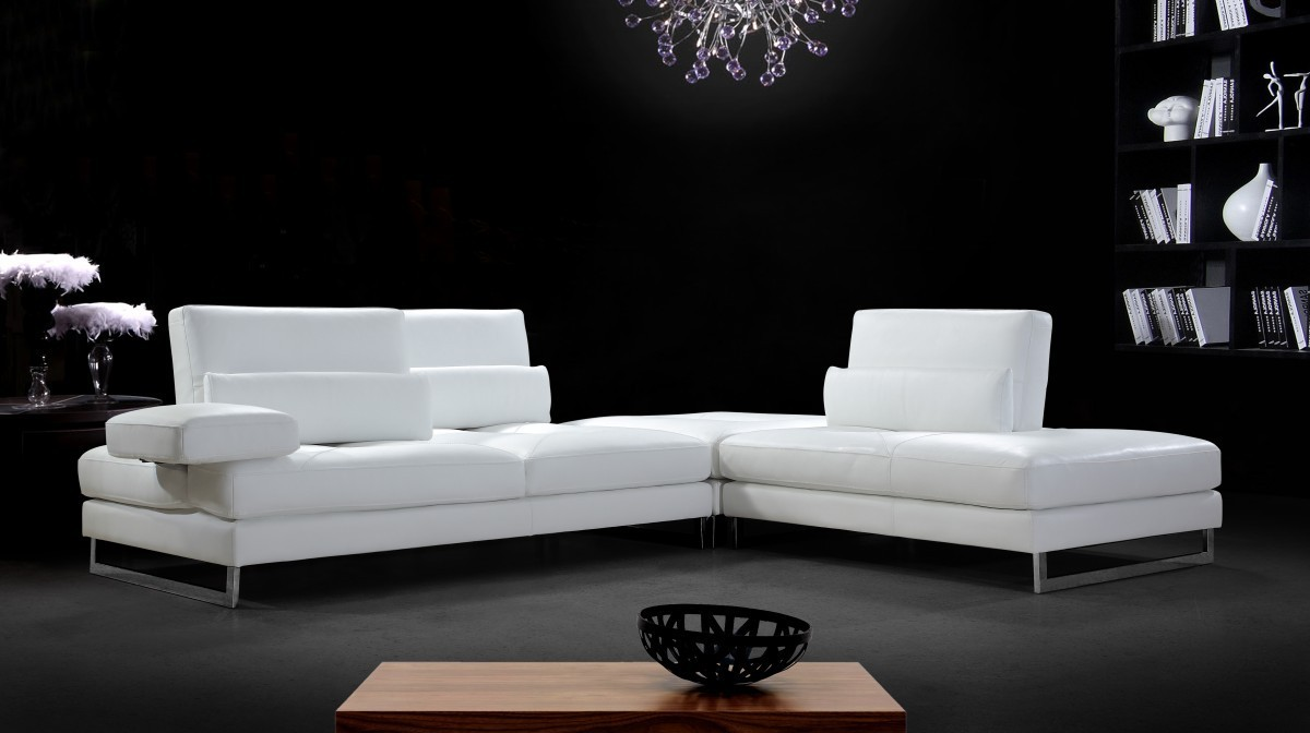 Tango Modern Leather Sectional Sofa Ge Leather