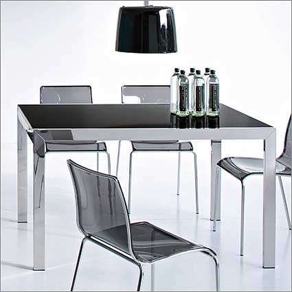 Key dining table calligaris modern dining dining room for Calligaris key table