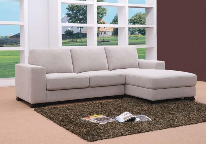 MB0818 Modern Fabric Sectional Sofa Bed