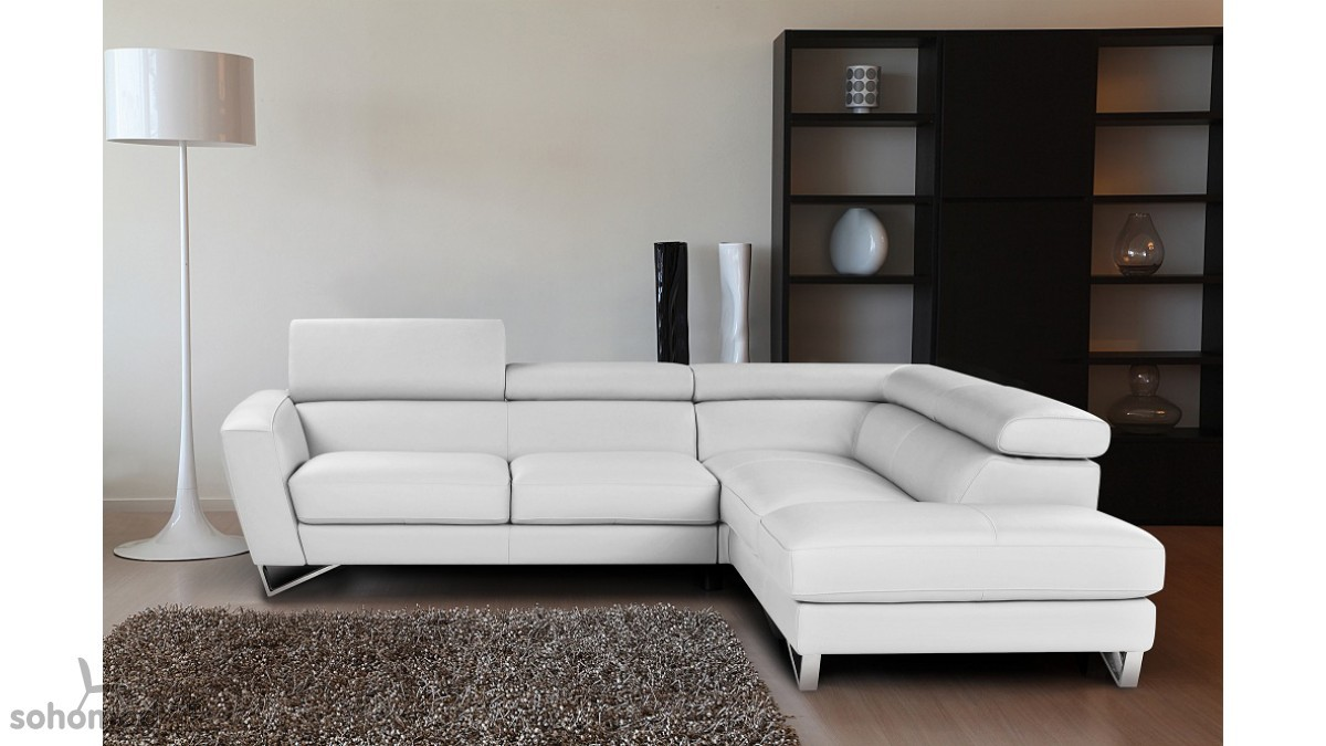 Sparta Sectional by Nicoletti - Leather Sofa sets - Living Room Star ...