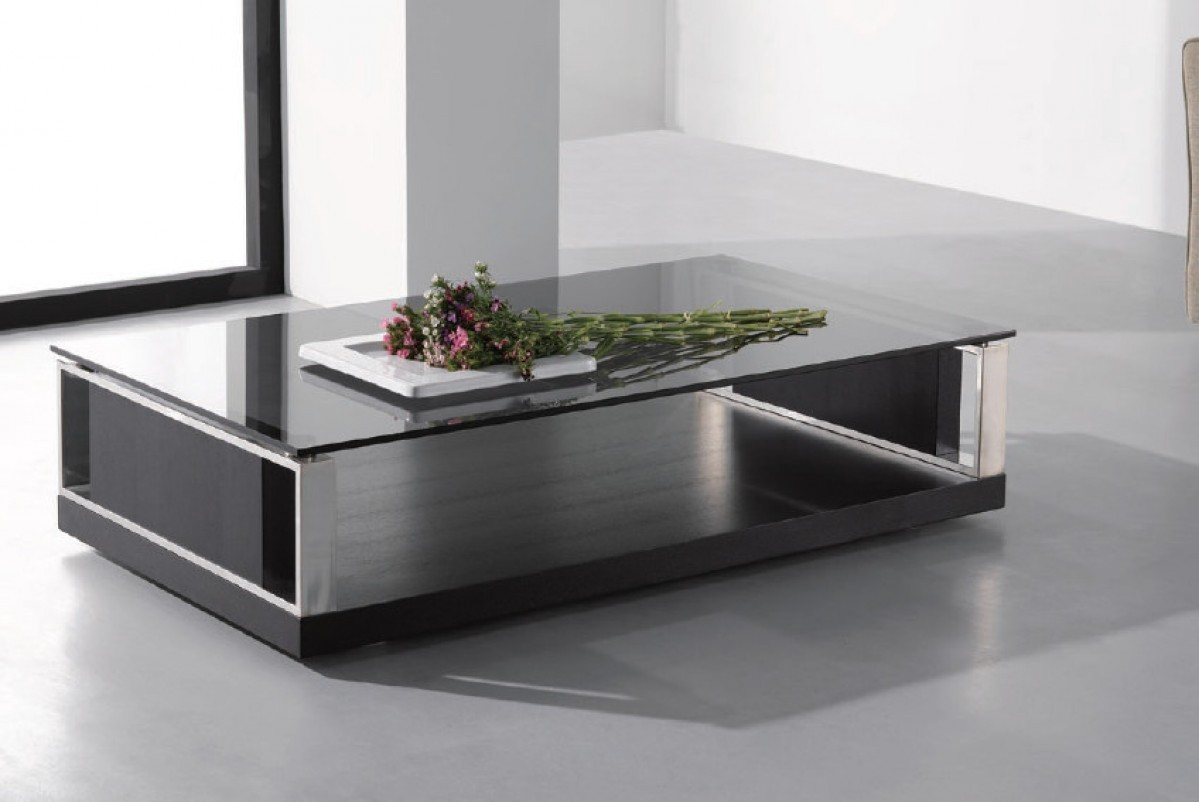 Jewels modern black coffee table ge coffee end tables star more views geotapseo Images