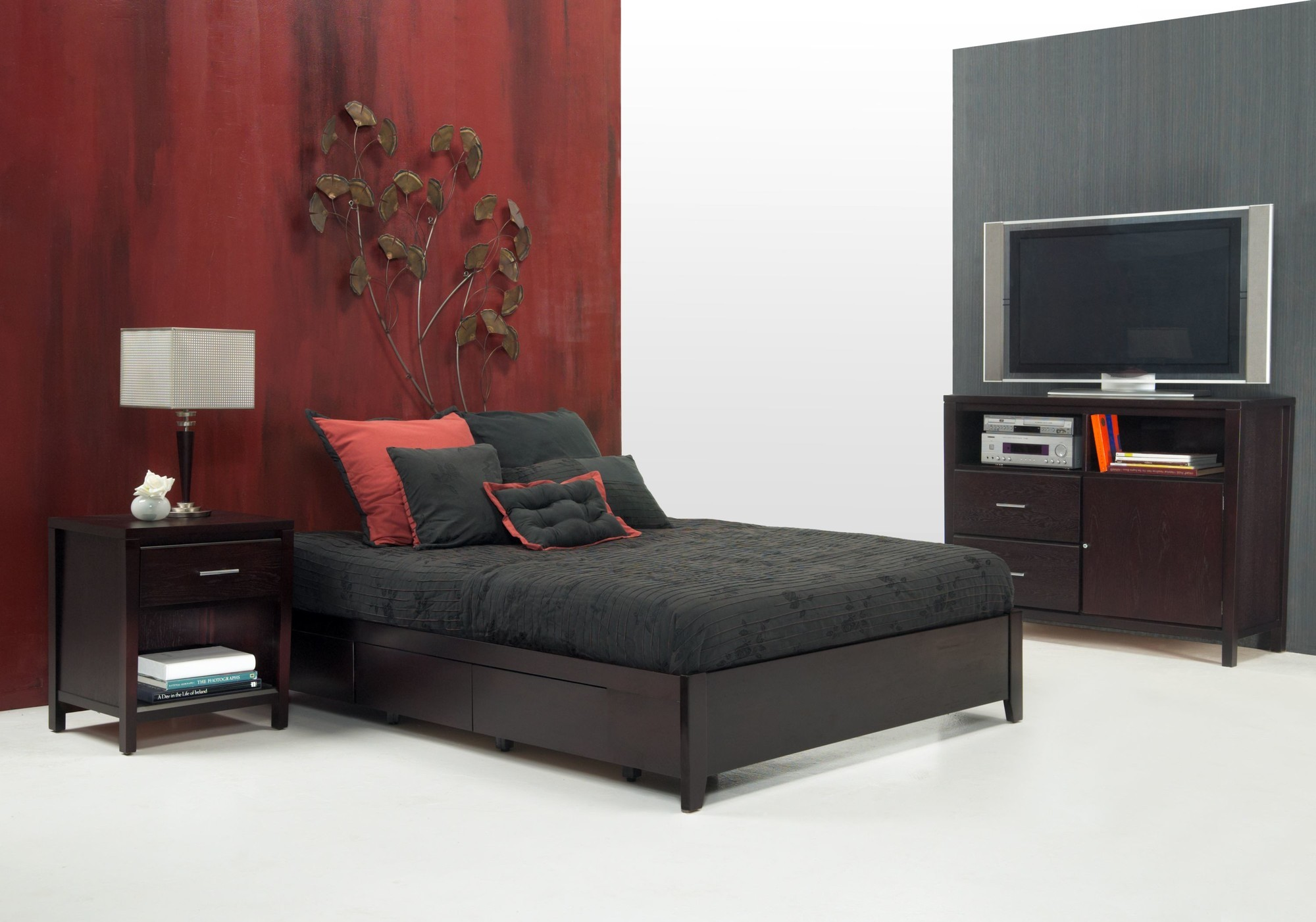 Evis Platform Bed Mfi Modus Furniture International