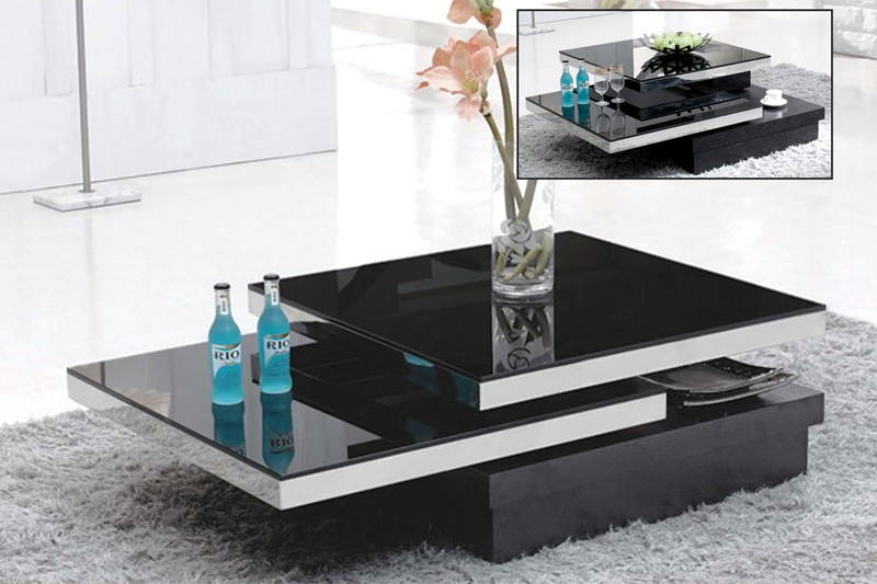 Swivel Top Coffee Table Coffee Amp End Tables Star Modern