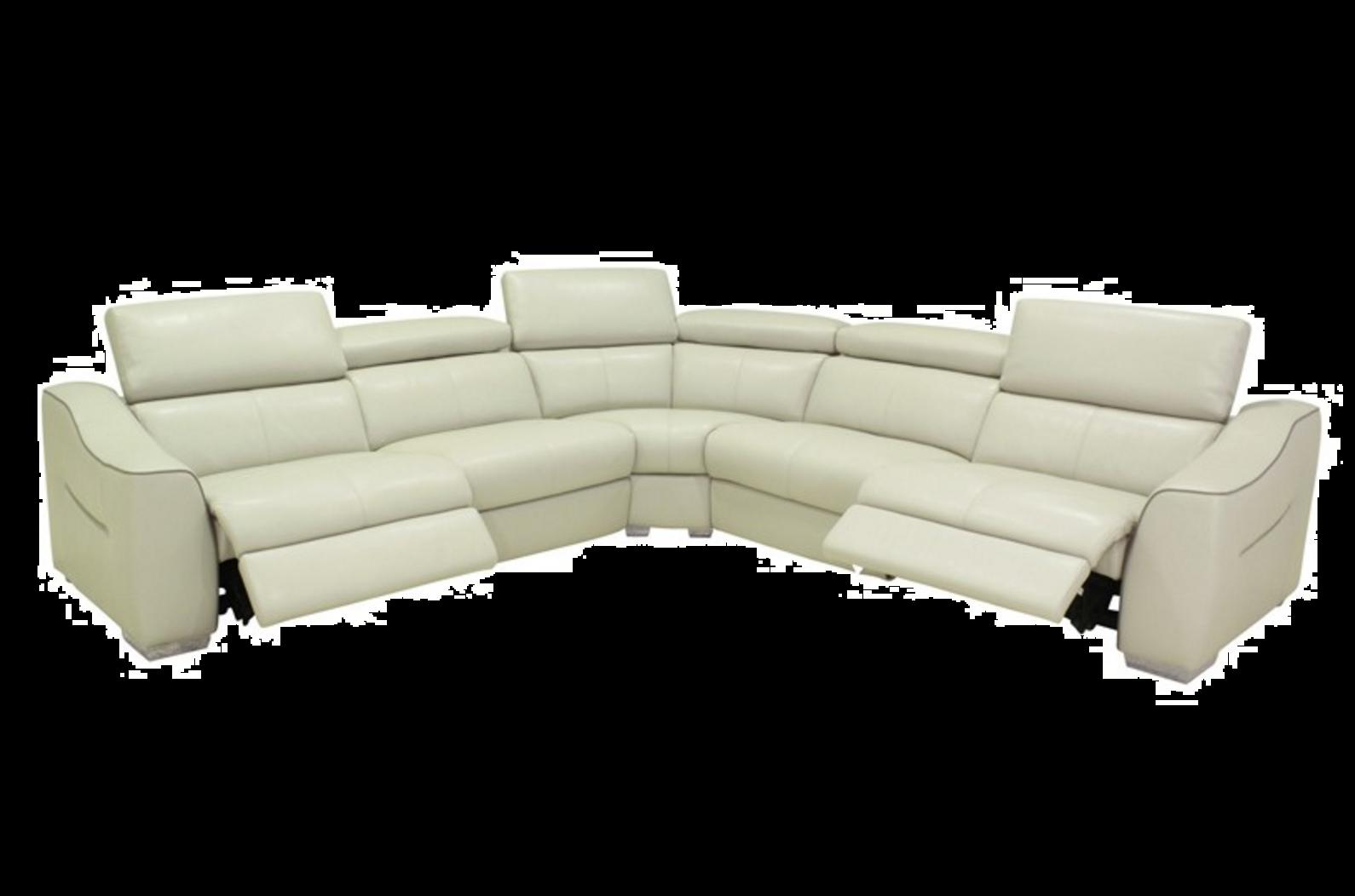 2029 modern full italian leather sofa