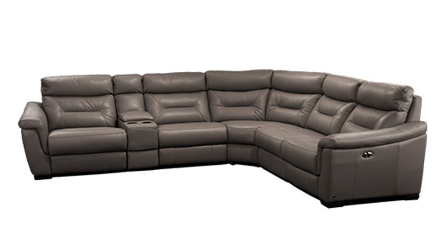 8759 Modern Full Italian Leather Set Leather Sofa Sets