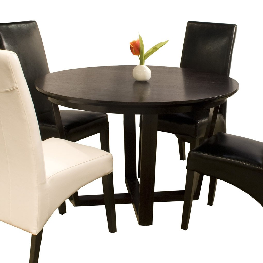 Round Kitchen Tables: Caprice Round Dining Table Star Modern Furniture