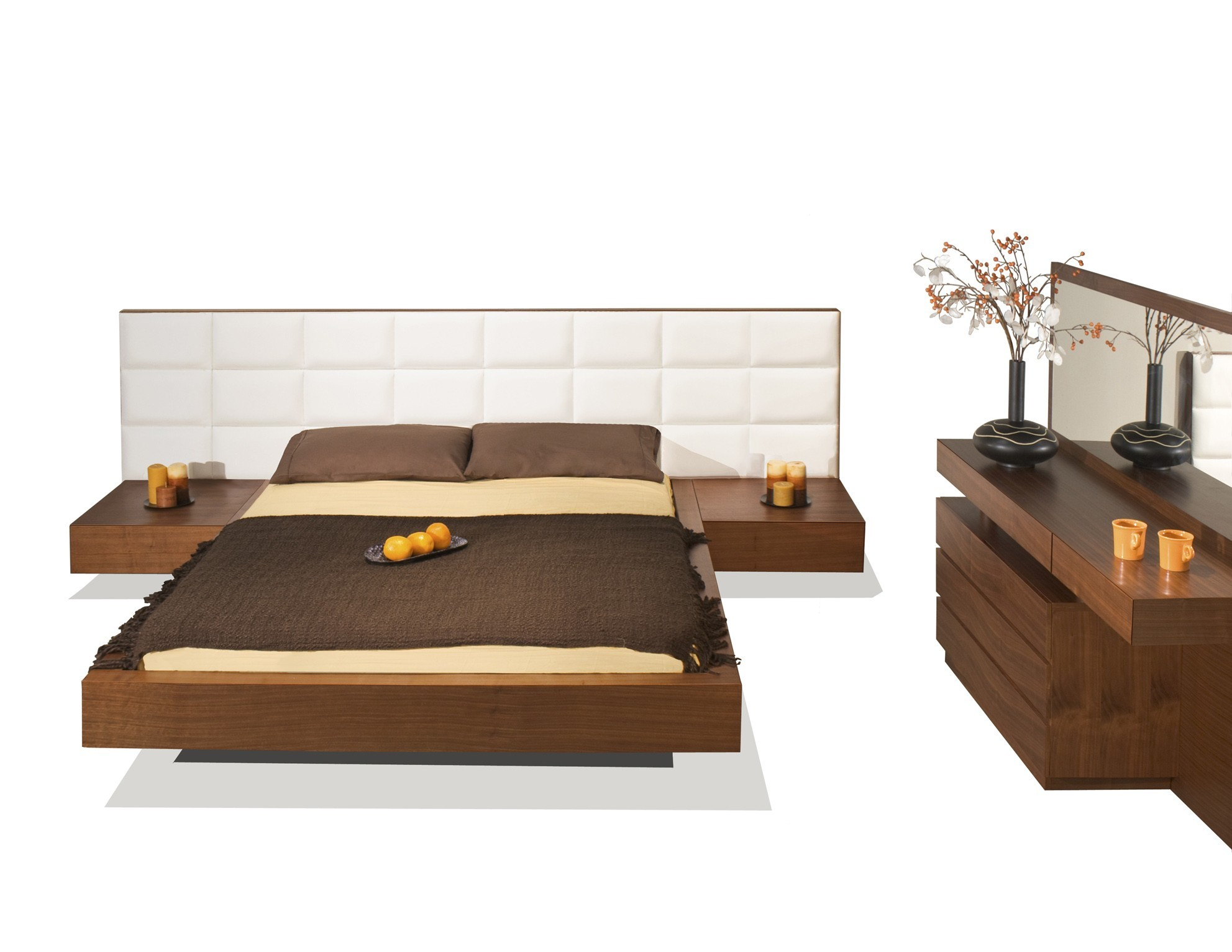 Sharon Platform Bed Modern Bedroom Star Modern Furniture
