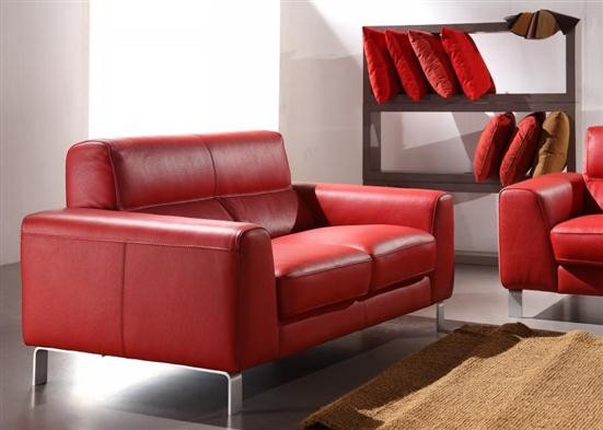 Nicoletti Div 216 Sectional Leather Sofa Sets Living