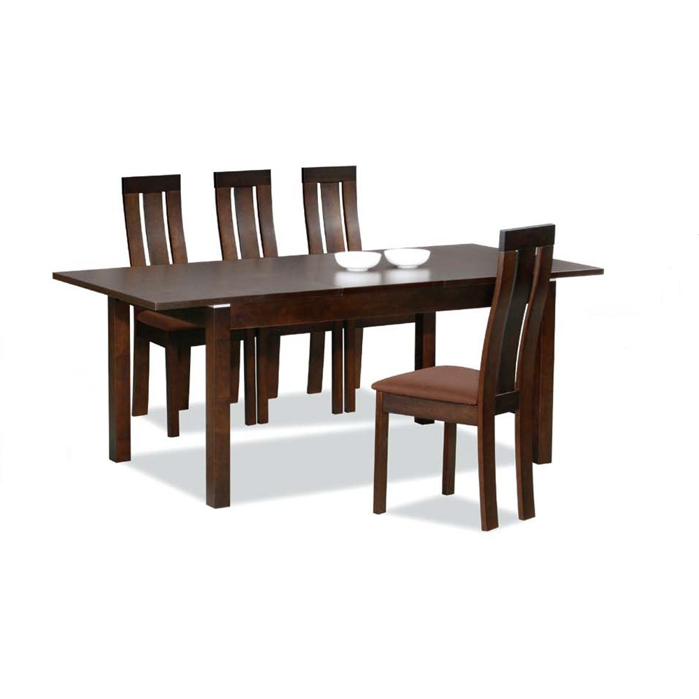 5 Piece Wenge Dining Table Modern Dining Dining Room